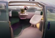 El MINI futurista y ecológico, una sala de estar rodante