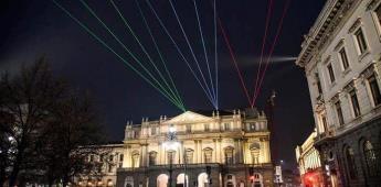 La Scala de Milán recuerda su reconstrucción tras la guerra y vuelve a recibir público