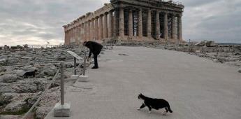 Grecia permite a Dior realizar sesiones de fotos en la Acrópolis