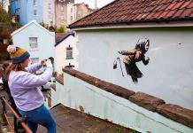 Banksy presenta nueva obra relacionada con el Covid-19 (FOTOS)