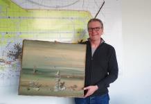 Recuperan valiosa pintura perdida en aeropuerto alemán