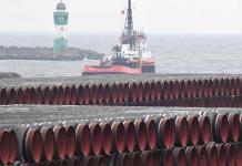 Construcción del gasoducto Nord Stream 2 en aguas danesas comenzará el viernes