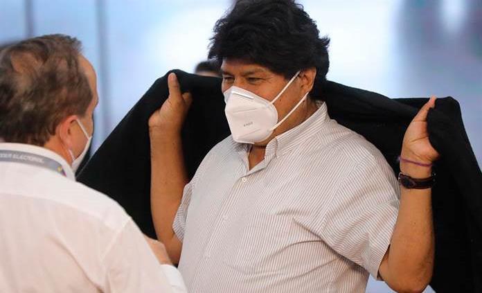 Evo Morales se recupera tras dar positivo a COVID-19