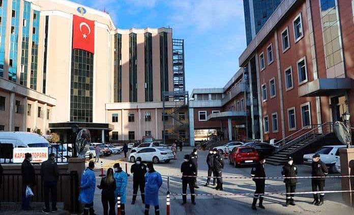 Nueve muertos en incendio en área de Covid en hospital de Turquía