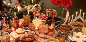 Festejos decembrinos, sin abusar de grasas y azúcar