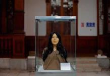 La dama de El Paraíso desvela su rostro, oculto por 3,700 años en Perú