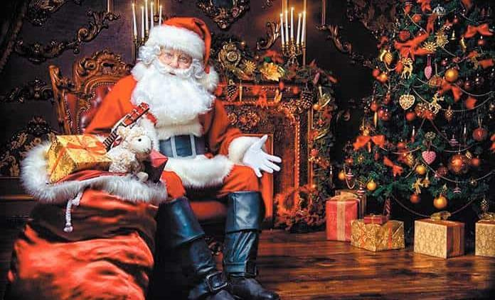 ¿Por qué Santa Claus se viste de rojo?