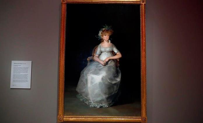 El Museo del Prado presenta la restauración de La condesa de Chinchón de Goya