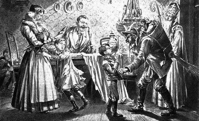 Krampus, este es el oscuro origen de la Navidad