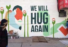 Nos abrazaremos de nuevo, la llama del street art no se extingue en N. York