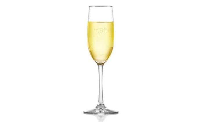 La mejor copa para el champagne