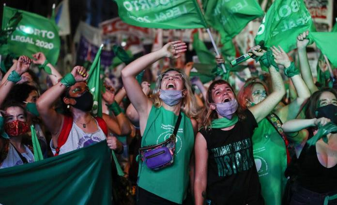 Argentina busca inspirar con ley legalización del aborto