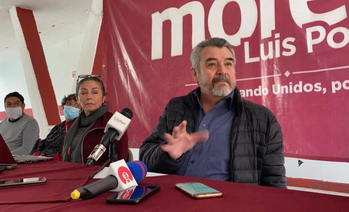 Dirigencia de Morena en SLP rechaza imposiciones del comité nacional