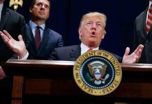 Crea confusión anuncio en una web oficial del fin del mandato de Trump