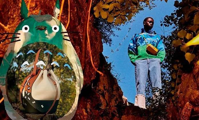 Loewe reproduce la iconografía de Mi vecino Totoro en una nueva colección