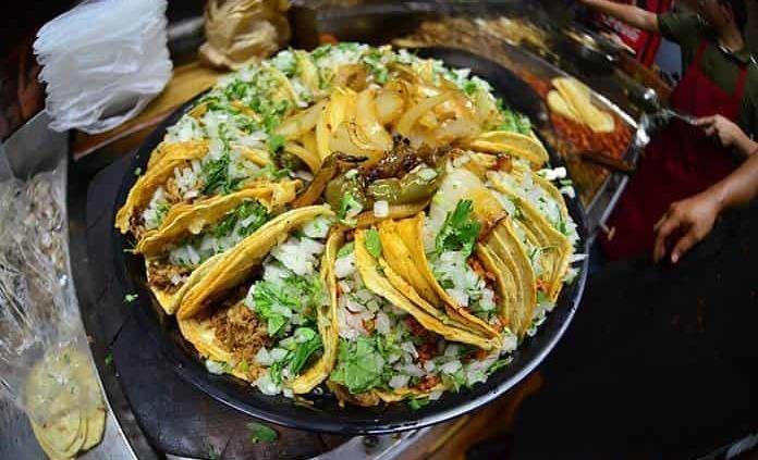 Una taquería evoluciona la tradicional rosca de Reyes en México
