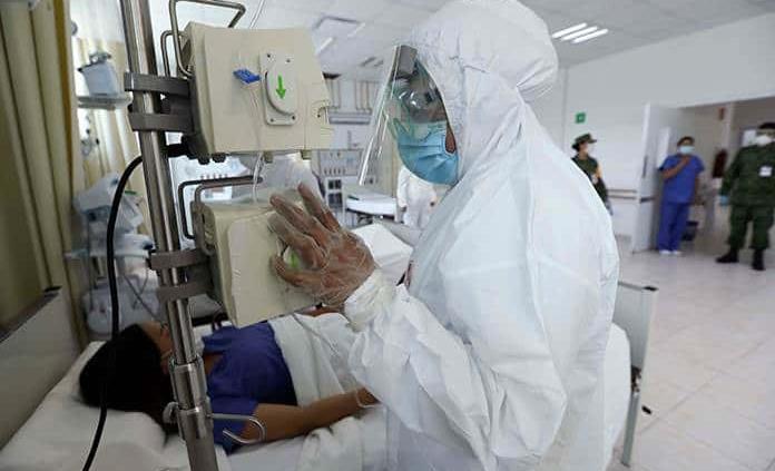 Faltan apenas 53 camas para la saturación en hospitales en el Valle de México