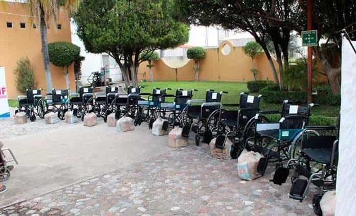 Donará varias sillas de ruedas el Club de Leones