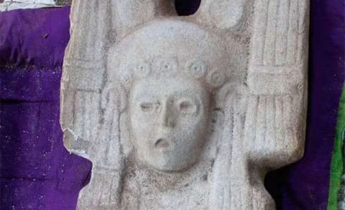 Reconoce INAH pieza arqueológica huasteca