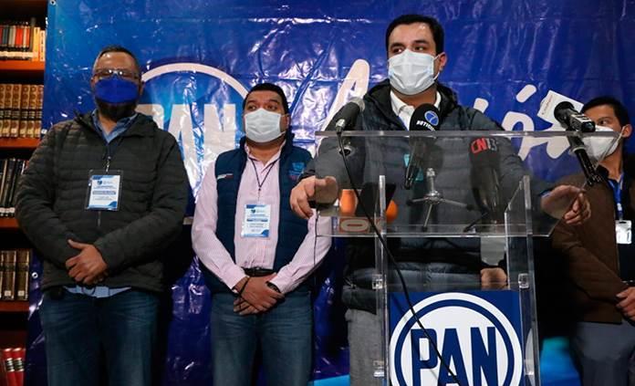 Confirma PAN triunfo de Octavio Pedroza
