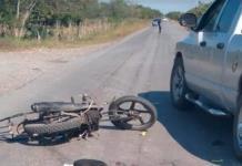 Motociclista resulta con lesiones graves luego de un accidente