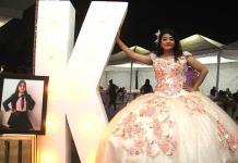 Karla Bravo Briones celebró feliz sus 15 años
