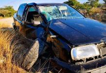 Sujeto ebrio protagoniza fuerte choque en Ciudad Valles; su pareja resulta herida