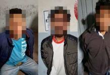 Detenidos en Carranza, parte de una banda involucrada en robo de nueve tiendas y una gasolinera