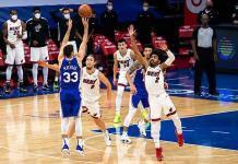 Los 76ers ganan al Heat en tiempo extra