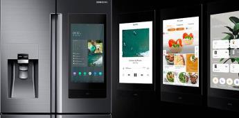 Samsung presenta refrigerador que recomienda dietas y recetas personalizadas