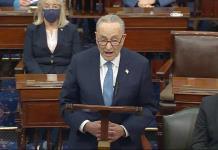 Líder demócrata pide confirmación rápida del gobierno de Joe Biden
