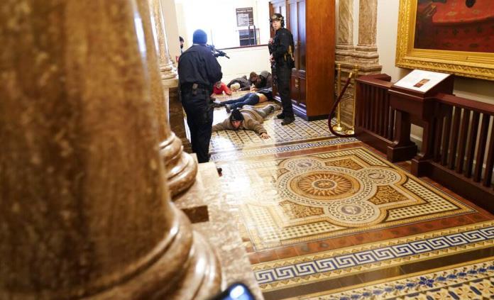 Ya no me siento segura en el Capitolio: Relato de una periodista