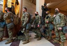 Amplían a más de 20,000 el número de soldados para la investidura de Biden