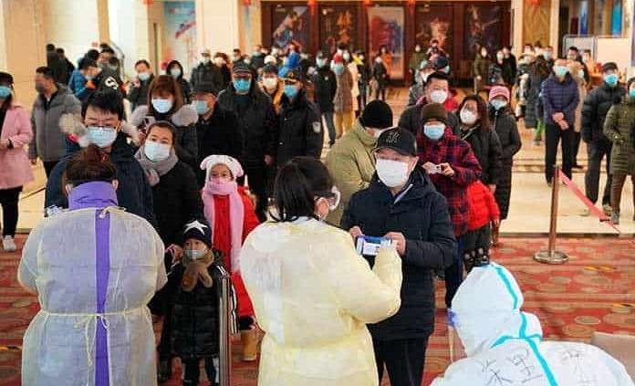 Ciudad en China hace millones de pruebas