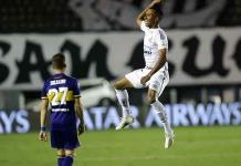 Santos vapuleó a Boca Juniors