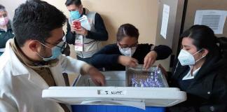 Una médico del Hospital General, la primera vacunada en Valles