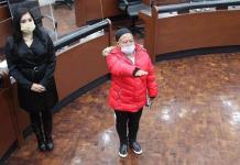 Rinde protesta la suplente de la diputada Rosario Sánchez Olivares