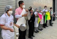 En Hidalgo y Puebla se suman a cacerolazo