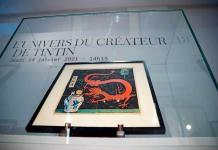 La acuarela de Tintín de 1936 es vendida por 3.1 millones de euros, nuevo récord