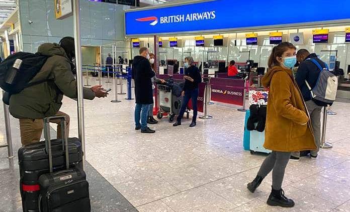 El Reino Unido veta los vuelos desde Portugal y 14 países de Sudamérica
