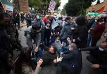 ONG israelí denuncia extrema violencia contra árabes en protesta contra Netanyahu