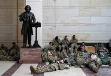 Suben a 26 mil los soldados para toma de posesión de Biden