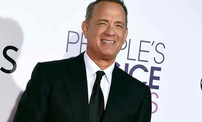 Tom Hanks en especial por Biden