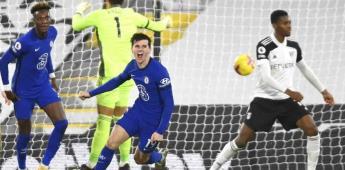 Mount ayuda otra vez a Lampard; Chelsea vence a Fulham
