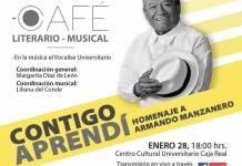 Contigo Aprendí, homenaje de la UASLP al compositor Armando Manzanero