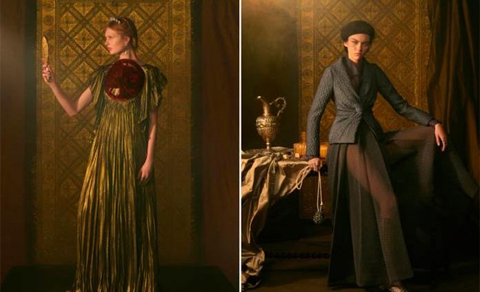 Dior y Schiaparelli se ponen supersticiosos en la Alta Costura parisina (VIDEO)