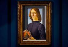 Un insólito retrato de Botticelli saldrá el jueves a subasta en Nueva York