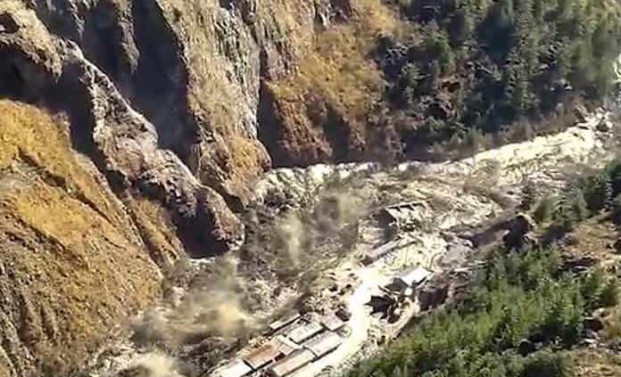 Un glaciar causó la avalancha de febrero que dejó unos 45 muertos en la India