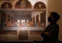 La última cena de Leonardo reabre al público local