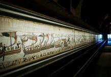 Célebre tapiz de Bayeux está a la vista en línea